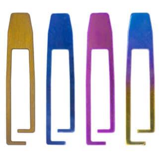 titanium Carabiner Gate Colors